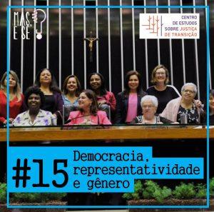 Podcast – Democracia, Representatividade e Gênero