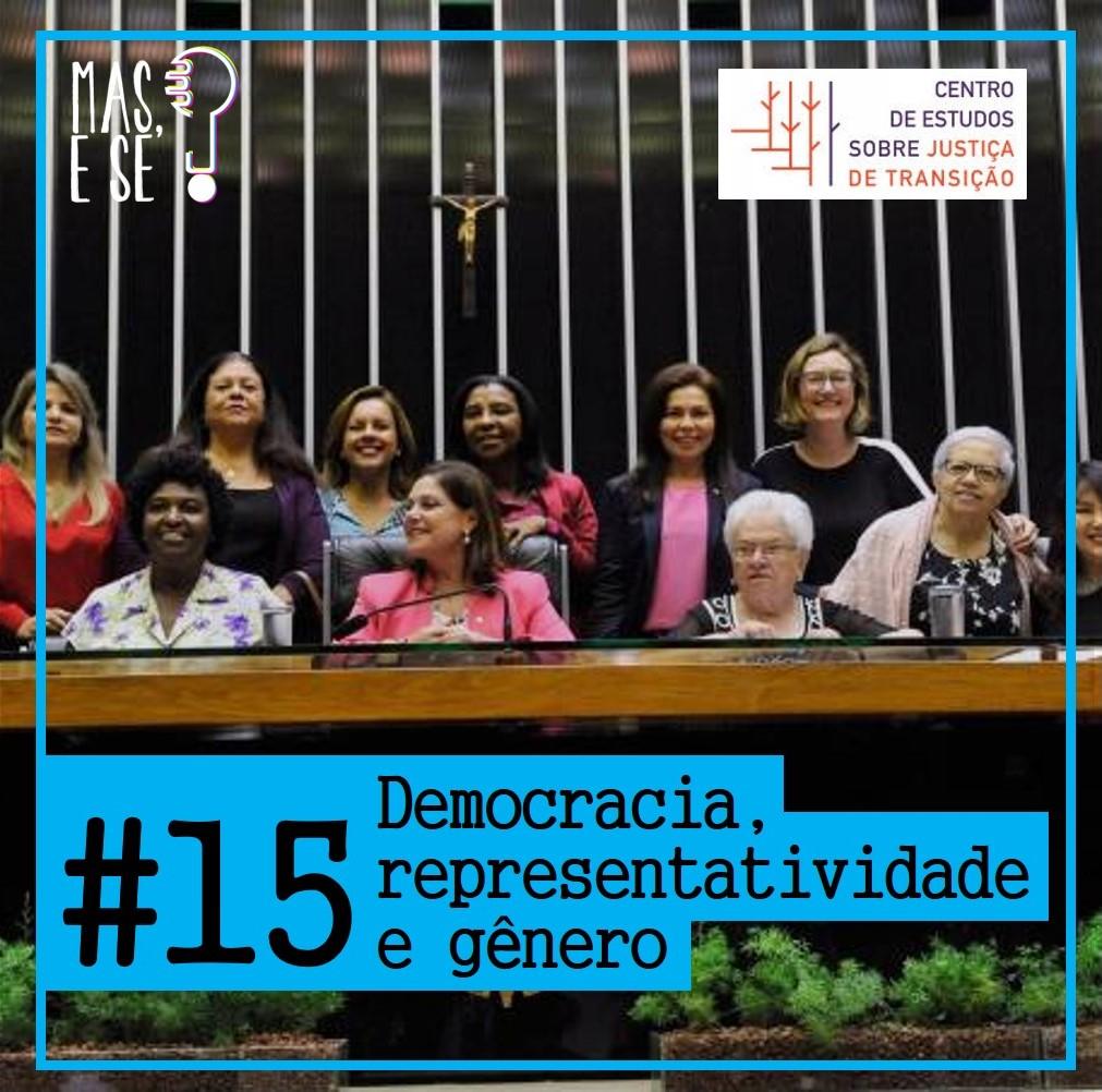 Podcast - Democracia, Representatividade e Gênero