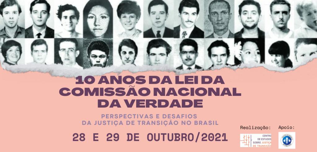 Evento - 10 anos da Lei da Comissão Nacional da Verdade