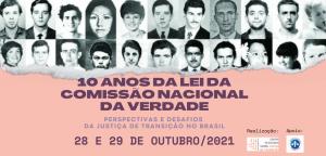 Evento – 10 anos da Lei da Comissão Nacional da Verdade